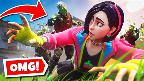 survive  zombie horde   fortnite infection