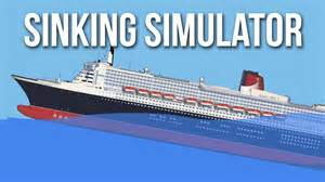 ship sinking simulator the demise of the allmighty titanic
