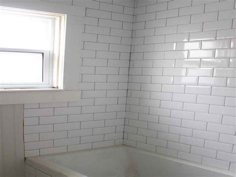 how to repairs how to install beveled subway tile