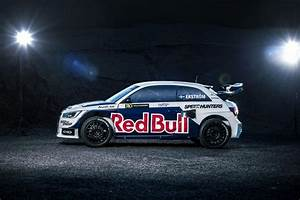 Audi S1 Ready To Rallycross In Red Bull Livery Autoevolution