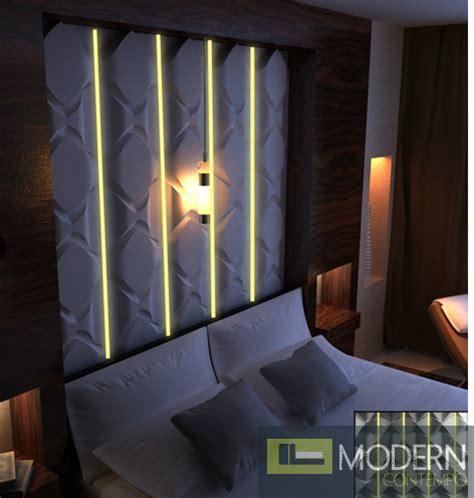 modern design led lit  wall panel led dwalldecor led