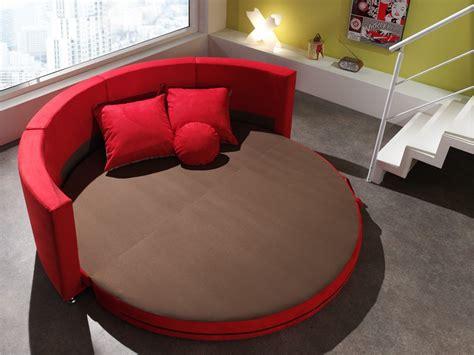 canapé lit rond canapé rond design en tissu smiley canapé en tissu
