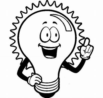 Bulb Coloring Pages Idea Flashlight Traffic Shining