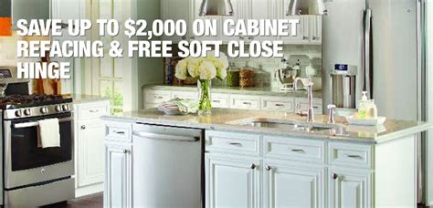home depot cabinet refinishing kitchen cabinet refacing at the home depot