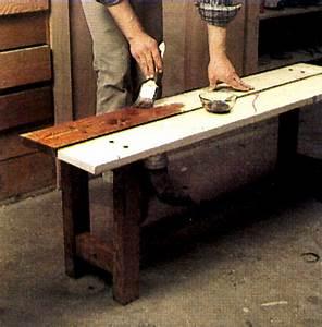 Fabriquer Un Banc D Interieur : comment fabriquer un banc diy furniture patios and organizations ~ Melissatoandfro.com Idées de Décoration