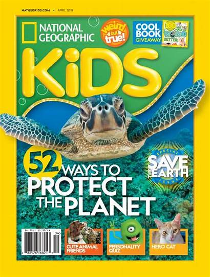 Geographic National Magazine April Subscription Usa Pages