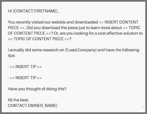 Cold Email Template 11 Awesome Cold Email Templates And Why They Work Leadgibbon