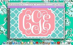 create monogrammed iphone wallpapers in 10 easy steps With create a monogram free online