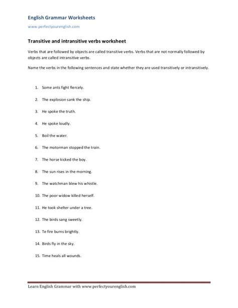 verb phrases worksheets 7th grade adjective phrases