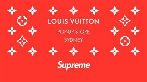 louis vuitton x supreme pop up store in sydney louis vuitton
