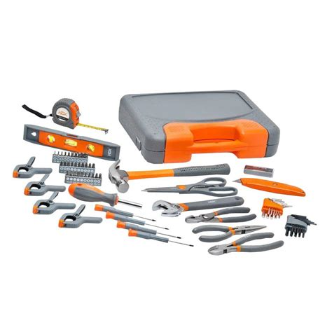 Hdx Homeowners Tool Set (76pieces)h76hos  The Home Depot