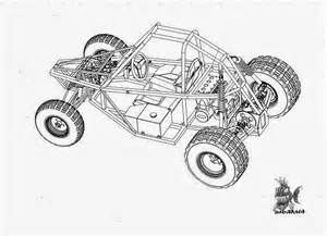 Dune Buggy Vector Coloring Arctic Cat Snowmobile Drawing Sketch