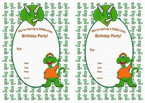 Cooking Party Invitations Dinosaur Birthday Invitations Birthday Printable