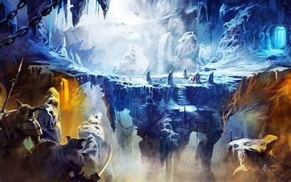 Cave Frozen Trine Wallpapers Resolutions 1280