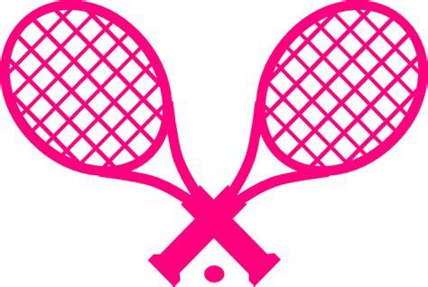pink tennis racquet clip art  clkercom vector clip art  royalty  public domain