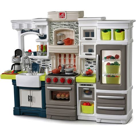 kitchen play sets step2 edge kitchen playset ebay