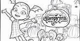 Vampirina Coloring Pages Disney Whitesbelfast sketch template