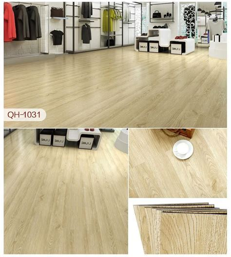 Self Adhesive Pvc Carpet 3D Wood Grain Plastic Floor Tiles
