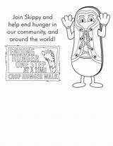 Coloring Crop Walk Resources Hunger sketch template
