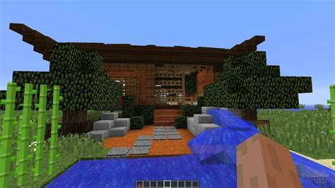 asian style home  minecraft