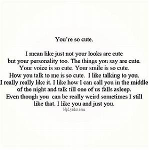what does it mean when someone calls you cute