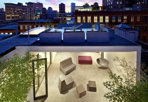 Sa Da Architecture by Chicke Penthouse With Rooftop Terrace Architecture Sa Da