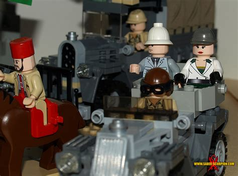 custom lego moc gallery saber scorpions lair custom