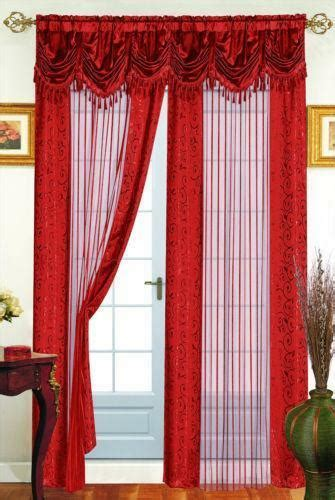 rust drapes rust curtains ebay