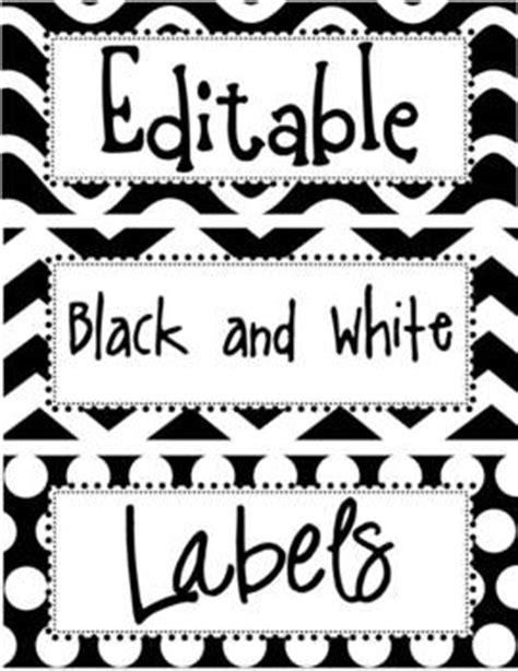 editable black  white labels   enlightened