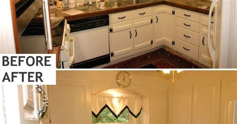 how to restain kitchen cabinets yourself resurface kitchen cabinets laminate before and after 8891