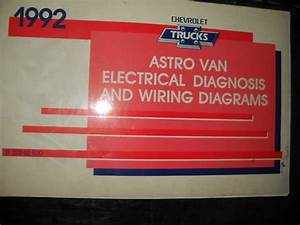 1992 Chevy Astro Van Electrical Wiring Diagram Service