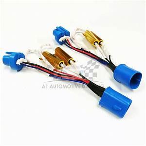 Hid Led Resistor Kit Relay Harness Adapter Anti Flicker