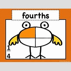 Fraction Family  Learn About Fractions! Common Core 2g3 And 3g2