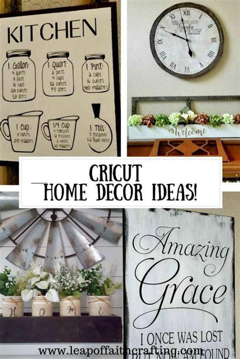 Beautiful And Elegant Cricut Home Decor!  Leap Of Faith