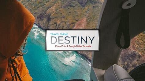 destiny travel theme  powerpoint templates google  themes