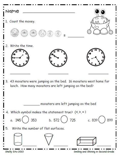 Free Math Programs For 2nd Graders  2nd Grade Math Curriculum Monkey School Free Game For