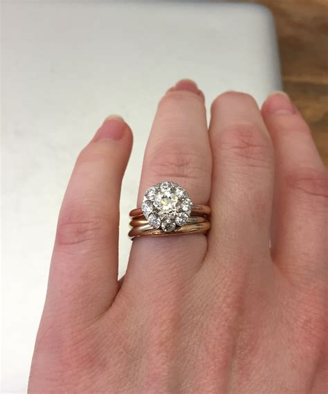 vintage cartier trinity xs ring
