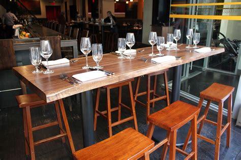 The Bar Table - handmade live edge bar tables by