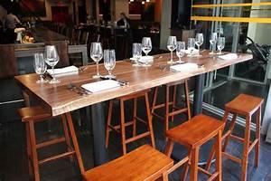Table Bar But : handmade live edge bar tables by peter lawrence woodworkers ~ Teatrodelosmanantiales.com Idées de Décoration