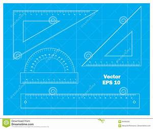 Schematic Drawing Tools Stock Illustration  Illustration