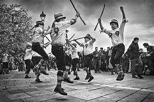 Morris Dance : Black and White Photography-529