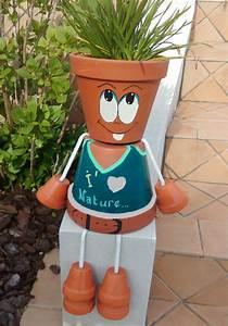 Pot De Fleur En Terre Cuite : petit couple en pots de terre cuite potter pinterest ~ Premium-room.com Idées de Décoration