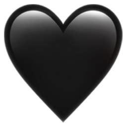 black heart emoji ufa
