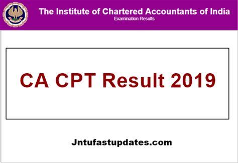 Ca Cpt Result 2019 June (released)
