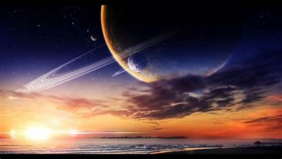 Planet Fantasy Wallpapers Ocean Planets Space Planetary
