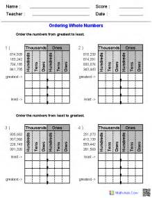 integers worksheets dynamically created integers worksheets - Math Assignments For 5th Graders