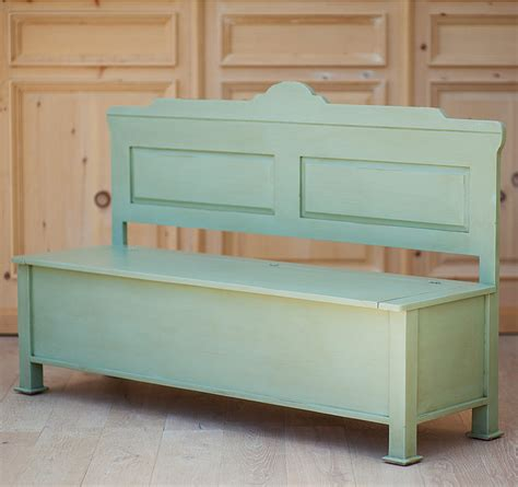 Hudson Dining Storage Bench  Traditional  Dining Benches