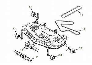 John Deere X380 Parts Diagram