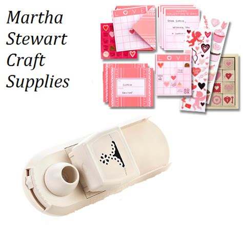 Martha Stewart Crafts Valentine Supplies Review And Craft