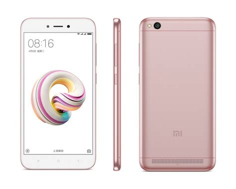 redmi 5a priced at 599 yuan is the cheapest xiaomi phone